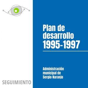 Seguimiento al Plan de Desarrollo 1995-1997