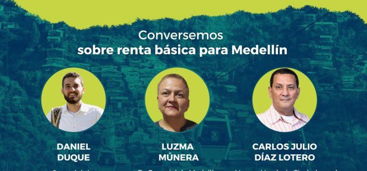 Conversación virtual sobre Renta Básica para Medellín